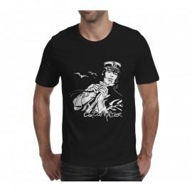 TEE SHIRT Corto Maltese - Corto dans le vent - Noir