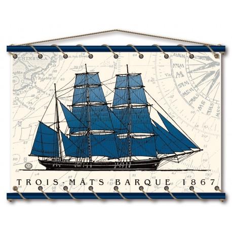 Trois-Mâts Barque 1867