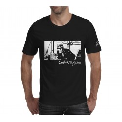 TEE SHIRT Corto Maltese Port Ducal - Noir